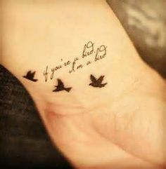 Image detail for -If you're a bird, i'm a bird - Tattoos and Tattoo Designs