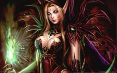 World of Warcraft Warlords of Draenor Fantasy Female Warrior, Fantasy Women, Fantasy Girl, Female Art, Elves Fantasy, Warrior Women, Dark Fantasy, Fantasy Characters, Female Characters