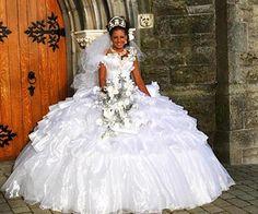 Big fat gypsy wedding dress