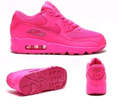 women nike air max 90 vivid pink - Google Search