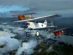 Goering's Circus, by Roger H. Middlebrook (Fokker DVII)