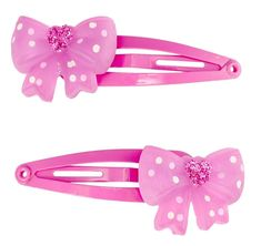 Pixie Pink Princes Bow Hair Clips * Visit the image link more details. Baby Hair Accessories, Bow Hair Clips, How To Make Hair, Rose, Pixie, Hair Care, Belt, Detail, Image Link