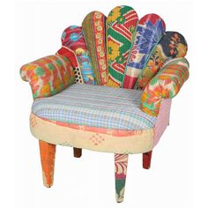 Peacock Arm Chair