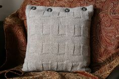 Latticework Pillow by Joanne Dillahuntly