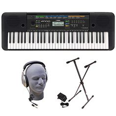 Yamaha PSRE253 61-Key Portable Keyboard Bundle with Headp... https://smile.amazon.com/dp/B01686TYOC/ref=cm_sw_r_pi_dp_x_FnoqybW3F49WF