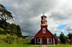 Church in Chiloé, Chile