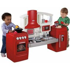 Cook N  Grow Kitchen Set Little Tikes Kids Pretend Play Toy Bbq Grill Cooking  #LittleTikes
