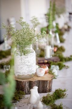midsummer nights dream wedding decor | SouthBound Bride | http://www.southboundbride.com/beach-fairytale-wedding-at-blue-bay-lodge-by-kusjka-du-plessis | Credit: Kusjka du Plessis