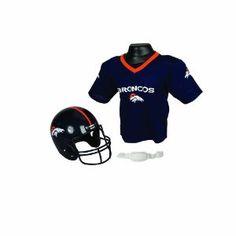 NFL Denver Broncos Replica Youth Helmet and Jersey Set --- http://www.amazon.com/Denver-Broncos-Replica-Helmet-Jersey/dp/B003LMRLI8/?tag=mm357