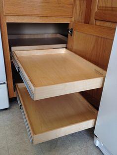 Diane Albright CPO, Organizing & Productivity Expert » Blog Archive » Kitchen Cabinet Blind Corner Solution