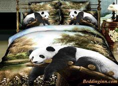 Quality Lifelike Panda Lying on the Trunk 3D Bedding Sets  Buy link->http://goo.gl/AQC77Y Live a better life, start with @beddinginn http://www.beddinginn.com/product/High-Quality-Lifelike-Panda-Lying-on-the-Trunk-Print-4-Pieces-Polyester-3D-Bedding-Sets-10942405.html