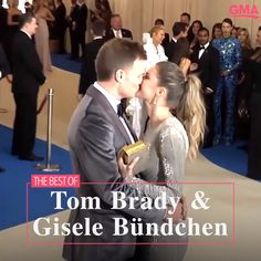 Tom Brady and Gisele Bundchen will forever be In honor of their sweet romance, we're taking a look back at some of the sweetest moments captured on camera between Tom Brady and Gisele Bundchen through the years. Xo Gisele, Tom Brady And Gisele, Giselle And Tom Brady, Famous Couples, Couples In Love, Celebrity Couple Costumes, Celebrity Dads, Interracial Celebrity Couples, Gisele Bundchen Tom Brady