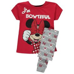 Girls Disney Minnie Mouse Pyjamas