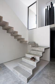 Casa Garcias / Warm Architects #design #architecture #stairs