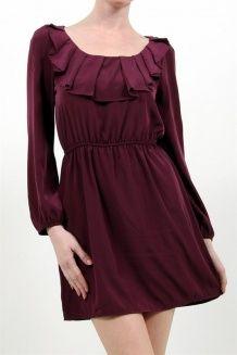Ruffle Berry Dress