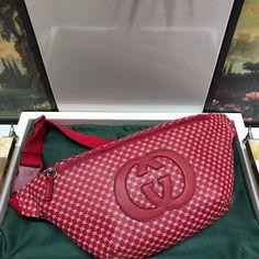 Gucci-Dapper Dan Belt Bag 536416 Pink 2018 Pink Gucci Purse, Gucci Purses, Gucci Handbags Sale, Dapper Dan, Kylie Jenner, Sunglasses Case, Personal Style, Belt, Accessories