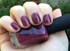 Wet n Wild So Berry On Trend #notd Perfect rich Fall berry shade! #crueltyfree