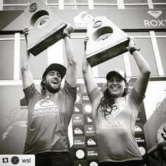 Congrats @tylerwright and @mattwilko8 !!! Some of the sickest surfing went down at the @roxy and @quiksilver pro. Go check it out @wsl ! #surf #surfing #wsl #goldcoast #quiksilver #roxy #snapperrocks #australia #sick #surflife #champs by brandonstanley
