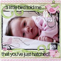 A Project by Candice Greenway from our Scrapbooking Gallery originally submitted at AM. I'm a huge fan of Candice Greenway Baby Girl Scrapbook, Baby Scrapbook Pages, Kids Scrapbook, Scrapbook Paper Crafts, Scrapbook Cards, Digital Scrapbooking Layouts, Scrapbook Sketches, Scrapbook Layouts, Card Tags