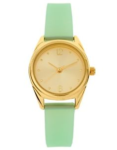 Pastel Green Watch