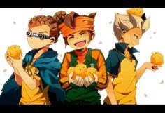 Inazuma Break trio - Gouenji Shuuya x Endou Mamoru x Kidou Yuuto