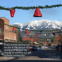 With holiday shopping right around the corner, today we are thankful for local business. The locally owned shops, restaurants and services that comprise our communities are distinctly Montana, the people running them our friends, family, and neighbors. We can think of no better way to express our gratitude for the thoughtful selections, unique dining experiences, and honest service than to make our holiday purchases from the people whose efforts shape our local experience.