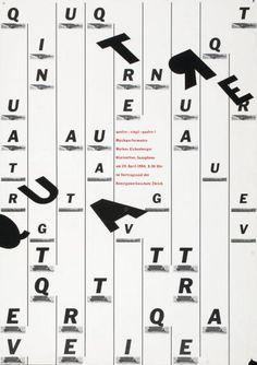 Peter Frey, quatre - vingt - quatre 1 - Musikperformance - Markus Eichenberger - Klarinetten, Saxophone - im Vortragssaal der Kunstgewerbeschule Zürich, 1984