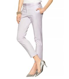 Cropped Summer Twill Pant