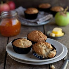 These muffins are light and fluffy and perfect for a week end brunch or tea.