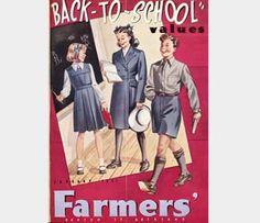 School Gym dresses, BATA shoes, Panama hats