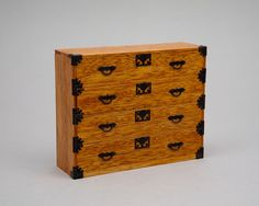 Good Sam Showcase of Miniatures: At the Show - Furniture from Japan. Tansu chest