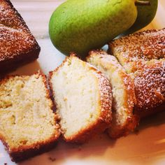 Pears' and honey bread, mmm
