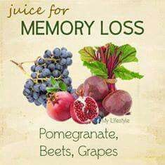 Juice for Memory Loss