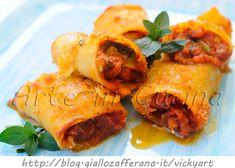 Paccheri gratinati ripieni con salsiccia e carciofi, al forno, ricetta facile, primo piatto saporito, come cucinare i carciofi, pasta ripiena, senza besciamella