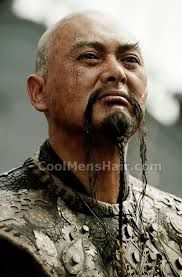 Traditional Stick On China Man Kung Fu Warrior Oriental Moustache Rice Chinese