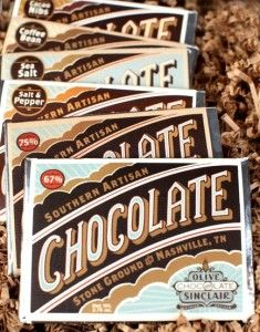 Olive & Sinclair Chocolate Nashville - Read all about them in my latest blog.
