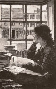 jessie wilcox smith  Art, posters and prints of a woman or women reading repinned by www.AboutHarry.com