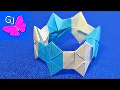 Оригами из бумаги МОДУЛЬНЫЙ БРАСЛЕТ - YouTube