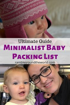 Your ultimate minimalist baby vacation packing list Road Trip With Kids, Travel With Kids, Family Travel, Family Vacations, Ultimate Packing List, Packing List For Vacation, Packing Tips, Flying With Kids, Spring Break Trips