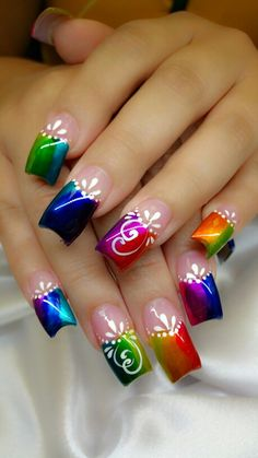 70 Trendy Spring Nail Designs are so perfect for this season Hope they can. - 70 Trendy Spring Nail Designs are so perfect for this season Hope they can… – Nails – # - Spring Nail Art, Nail Designs Spring, Cute Nail Designs, Spring Nails, Summer Nails, Pretty Nail Art, Beautiful Nail Art, Cool Nail Art, Beautiful Pictures