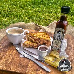 Kitty O'Byrnes #Turf Sauce #Toasted #Ham & #Cheese #Murphys #Irish #Stout Ham, Irish, Kitty, Cheese, Little Kitty, Irish Language, Hams, Kitty Cats, Kitten
