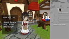 This project is a Top-Down RPG Starter Kit for Unity.   Easy to use and modify. A beginner can easily understand and use this (All main script has a custom editor) , Scripts are written in c#.   New Version 1.2 - Dialog system - Quest system - Add model npc - Minor bug fixes  Features  - Simple AI  - Custom Editor Script  - Full comment c# code and tutorial  - Status System  - Player Skill System  - Inventory System  - Item Creater  - Shop System  - Save System  - Sample AI, Hero  Demo…