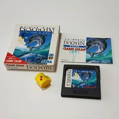 Don't miss this one by retronutz #retrogaming #microhobbit (o) http://ift.tt/1RXnQZd addition to my Japanese Sega Game Gear cartridge collection.  Ecco The Dolphin  #sega #gamegear #eccothedolphin #retrocollective  #retrogamers #vintagegames #japangames #handheldgaming #retrogames #segagamegear #cartridgegames #segagaming