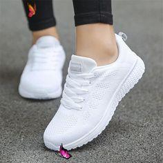 US $5.11 69% OFF Kadın rahat ayakkabılar Moda Nefes Yürüyüş Örgü düz ayakkabı Kadın Beyaz Ayakkabı Kadın 2019 Tenis Feminino Spor Ayakkabı Spor Vulkanize Kadın Ayakkabıları    - AliExpress Ucuz Kadın rahat ayakkabılar Moda Nefes Yürüyüş Örgü düz ayakkabı Kadın Beyaz Sneakers Kadın 2019 Tenis Feminino Spor Ayakkabı Spor, Satın Kalite Vulkanize Kadın Ayakkabıları doğrudan Çin Tedarikçilerden: Kadın rahat ayakkabılar Moda Nefes Yürüyüş Örgü düz ayakkabı Kadın Beyaz Sneakers Kadın 2019 Tenis… Moda Sneakers, Sneakers Mode, Sneakers Fashion, Fashion Shoes, Md Fashion, Sneakers Workout, Fashion Brands, Winter Fashion, Fashion Websites