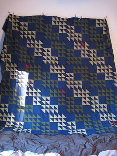 Amish quilt for my sister. #quilt #quilts