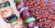 Grilled Shrimp and Andouille Sausage Kabobs