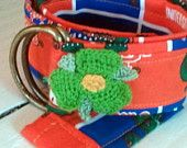 Boutique University of Florida Toddler Flower Power Belt