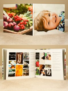 layout- Find Your Happiness: Project 365: 2011 Photobook