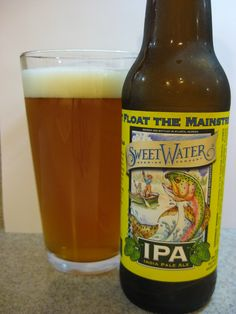 SweetWater IPA by SweetWater Brewing Company Beer 101, Brewing Company, Happy Hour, Beer Bottle, Ale, Drinks, Drinking, Beverages