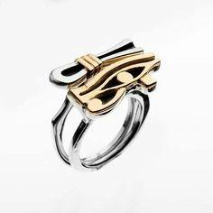 Egyptian Jewelry, Egyptian Art, Ancient Egypt Art, Tribal Jewelry, Male Jewelry, Eye Of Horus, Silver Cat, Jewelry Photography, Jewelery